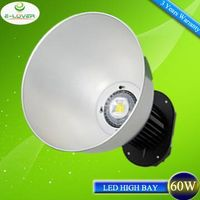 high lumen 60w industrial led highbay lighting 3 years warranty
