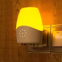 OTOFN Intelligent voice control light control induction lamp LED night light plug-in bedside lamp thumbnail image