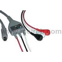 MEK One-piece ECG cable with lead wire