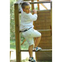 boy's Shorts 100% linen. Designed in Italy.