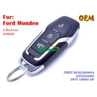 New Ford Mondeo remote key 3 buttons 434MHZ Keyless entry