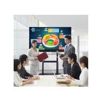 Anti Glare 65 75 86 inch LCD Display Monitor Interactive Flat Panel Smart board thumbnail image