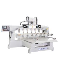 XFL-2813-8 4 Axis Cylinder Engraving Machine Wood CNC Router