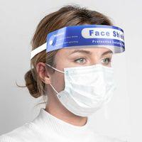 Head-Mounted PET Plastic Face Shield