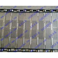 heave duty iron plate slat link conveyor belt