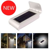2ND 16LED Waterproof Solar Power Motion LED Light Security Wall Garden Path Lamp thumbnail image