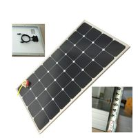 Hovall 110w Tempered Glass Laminated Sunpower Solar Panel