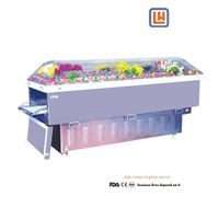 Fueral Display Air-Condition Coffin ,Corpse Refrigerator,Body Ice Box,Mortuary Cooler
