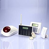 Dual Network  PSTN/GSM Home Alarm system