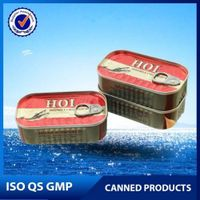 125g, 155g, 425g Canned sardine in Vegetable Oil, tomato sauce, brine