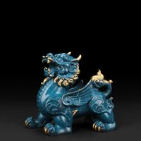 The Bronze feng shui Pixiu statue Was Molded Using Lost-Wax method