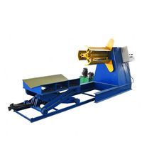 5T/10T Hydraulic Uncoiler Decoiler Color Steel Decoiler Roll Forming Machine thumbnail image