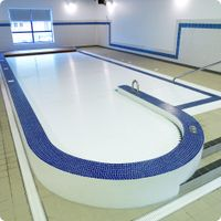 automatic hard swimming pool cover in ground