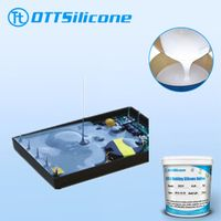 Potting compound silicone/silicone rubber for electronics potting/sealing liquid silicone