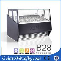 B28 New product china ice cream showcase gelato display supplier