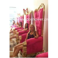 Doshower queen pedicure chairs of luxury throne spa pedicure chairs thumbnail image