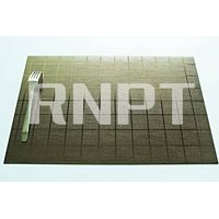 RNPT brushed metallic placemat