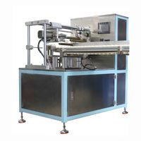 Automatic punching machine for plastic tube laminated tube