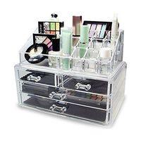 wholesale top quality customized acrylic makeup organizer thumbnail image