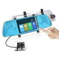 """SEEYO 5"""" Mirror Dash camera with Dual Cameras Record"""