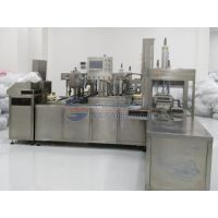 Disposable vacuum blood collection tube assembly line