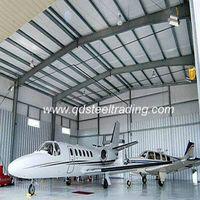 steel structure airplane hangar