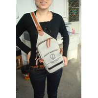 fashion leisure canvas shoulder bag