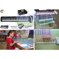 37 keys roll-up keyboard piano