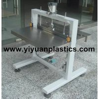 Metal blade fixing machine