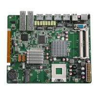 Industrial firewall motherboard with Intel GM45 Chipset GM45-6LAN(B)