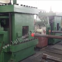Automatic control tube upsetting press for Upset Forging of oil pipe end