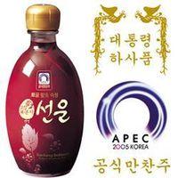 Korean BlackRaspberry Wine(15%, 375ml) thumbnail image