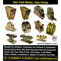 Gate Track Wheels manufacturers exporters suppliers India http://www.finedgeinc.com +91-8289000018,