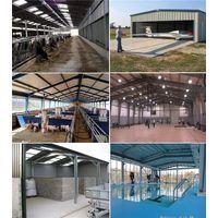Canopy Steel Structure Aircraft Hangar Warehouse Outdoor Garden Storage Car Parking Metal Shed