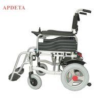 Cheap price portable electric wheelchair folding aluminum alloy electric wheelchair for elder