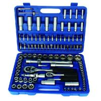 108 pcs Adjustable Blow Case Ratchet Spanner Wrench Socket Set