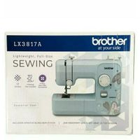 Brother LX3817A 17-Stitch Full-size Sewing Machine lightweight. Make Face Masks +14704086638