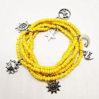 2021 new fashion Bohemian sexy body chain beach woven thread rice bead waist bead wholesale thumbnail image