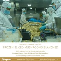 IQF Sliced Mushrooms Blanched/IQF Sliced Mushrooms Blanched/IQF Mushroom Slices Blanched thumbnail image