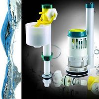 "Innovated quality toilet cistern mechanism/ adjustable fill valve+2"" single flush"