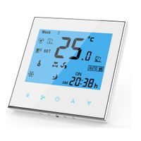 RS485 Fan Coil Room Thermostat Touch Screen Programmable BAC-1000