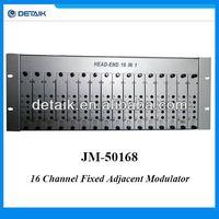16CH Fixed Adjacent Modulator / 16 in 1 16 Channel RF Modulator