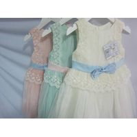 Girls Formal Wear Lace Fancy Kids Clothes Girls Party Dresses thumbnail image