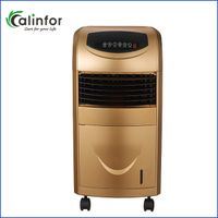 Luxurious golden ABS indoor air cooler with water tank