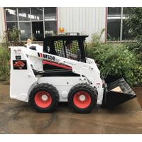 brand new bobcat skid steer wheel loader mini loader bobcat for sale thumbnail image