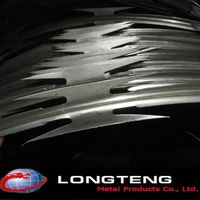 700mm diameter galvanized BTO-22 CBT-60 concertina razor barbed wire