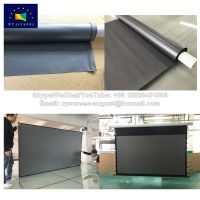 High Definition Black Diamond Projection Screen Projector Screen/Fabric for Projection Equipment