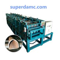 Metal Tube D Type Roll Forming Machine