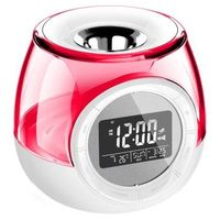 Aroma heater with LED night light,mood light ,Aroma Clock ,fm radio