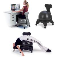 Fitness Balance Ball Trainer With Chair